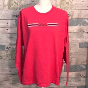 Adidas embroidered and glitter tee size xl